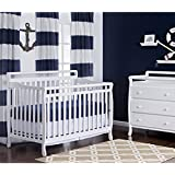 Dream On Me Liberty Collection 4 in 1 Crib, White