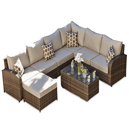 Epic Buy Cheap Rattan Outdoor Sofa Set Weave Modular Sofa Set Outdoor Garden Furniture Conservatory Patio Furniture Ledbury