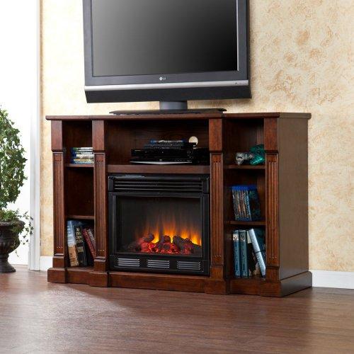 Artaxes Electric Media Fireplace - Espresso image B00BVNYELG.jpg