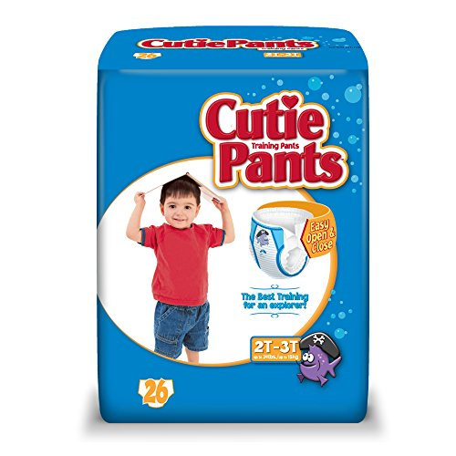 Cuties Training Pants, Boy, 104 Count (Pack of 4)