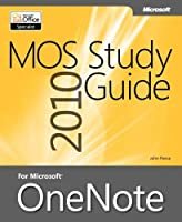 MOS 2010 Study Guide for Microsoft OneNote Front Cover