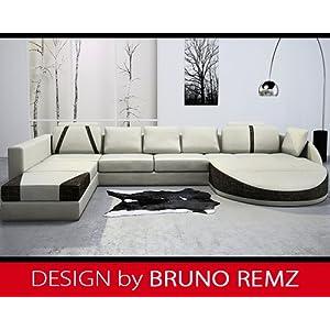 Preisvergleich Mit Bruno Remz Berlin Design Sofa Couch Ecksofa Eckcouch Wohnlandschaft Stoffsofa