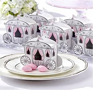 Amazon.comMelife Enchanted Carriage Favor Candy Boxes Wedding Party ...