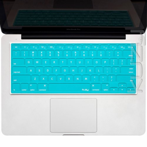 Review:  Kuzy - Solid TEAL Keyboard Silicone Cover Skin for Apple MacBook Pro 13