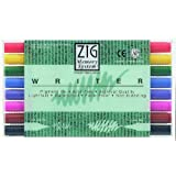 Zig Memory System Writer Dual-Tip Markers, Multicolor, 8-Pack