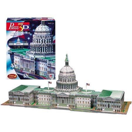 Cheap Hasbro Puzz 3D – U.S. Capitol Building (B0007Q1IRQ)