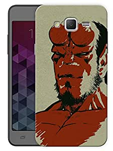 "Humor Gang Hell Boy Vintage Printed Designer Mobile Back Cover For ""Samsung Galaxy On5"" (3D, Matte, Premium Quality Snap On Case)"