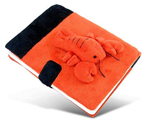 Puzzled Lobster Plush Notebook
