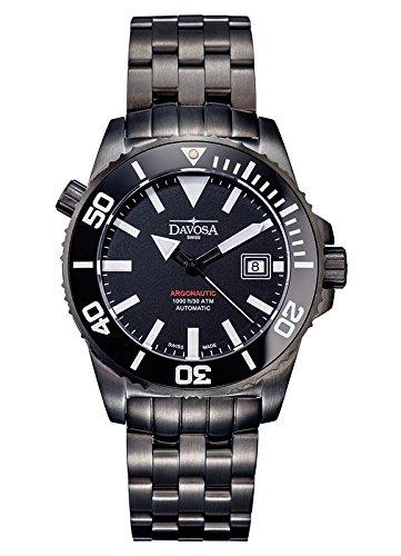 Davosa - 16149880 - Montre Homme - Automatique - Analogique - Bracelet Acier Inoxydable Noir