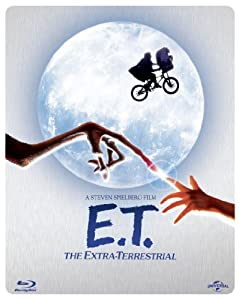 E.T. The Extra-Terrestrial - Limited Edition Steelbook (Blu-ray + Digital Copy + UV Copy) [1982] [Region Free]