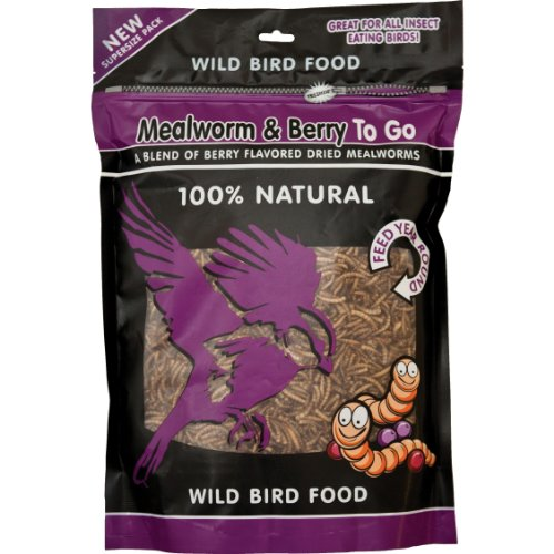 Cheap Unipet WB158 Mealworms and Berry To Go, 500 Gram (WB158)