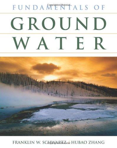 Fundamentals of Ground Water