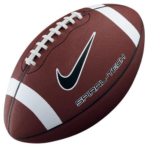 Nike Spiral Tech Composite Leather Football, Youth