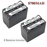 Kastar Battery (2-Pack) for Sony NP