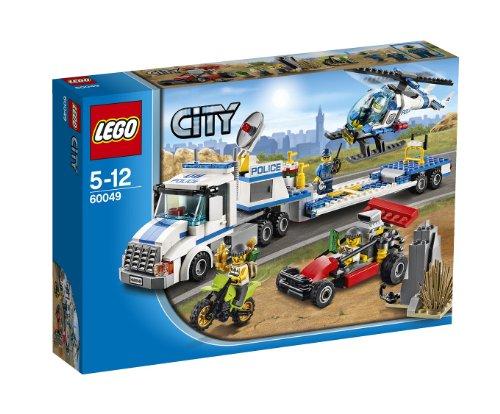 レゴ シティ ポリスヘリコプターキャリアー 60049