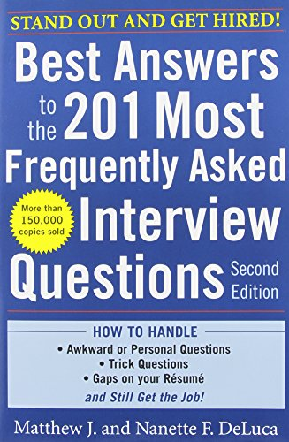 Best Answers to the 201 Most Frequently Asked Interview...