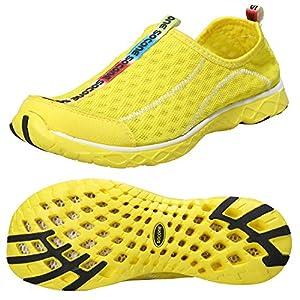 Zhuanglin Women's Quick Drying Aqua Water Shoes Size 6 B(M) US Yellow