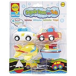 Alex Toys Bathtime Fun Bath Squirters - Transportation 700TN (12 Per Pack)