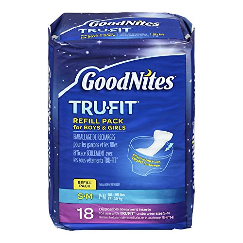 Goodnites Tru-Fit Disposable Inserts Underwear - Small/Mediu