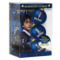 Harry Potter und der Stein der Weisen - Weihnachts-Filmbox (Single Disc inkl. 3 hochwertiger Christbaumkugel)