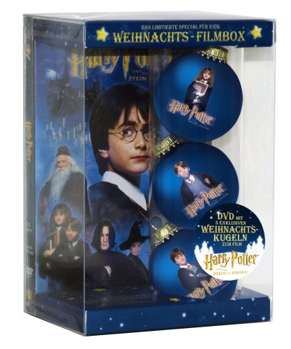 harry potter und der stein der weisen weihnachts filmbox. Black Bedroom Furniture Sets. Home Design Ideas