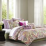 Echo Vineyard Paisley Comforter Set, California King, Multi