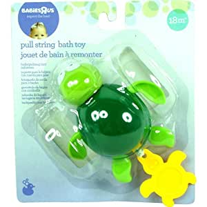 babies r us pull string bath buddy turtle toys games. Black Bedroom Furniture Sets. Home Design Ideas