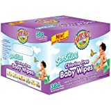Earth's Best Chlorine-Free Wipes, Sensitive, 384 Count