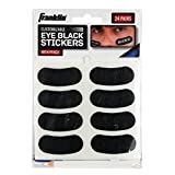 Franklin Sports Eye Black Stickers with White Pencil