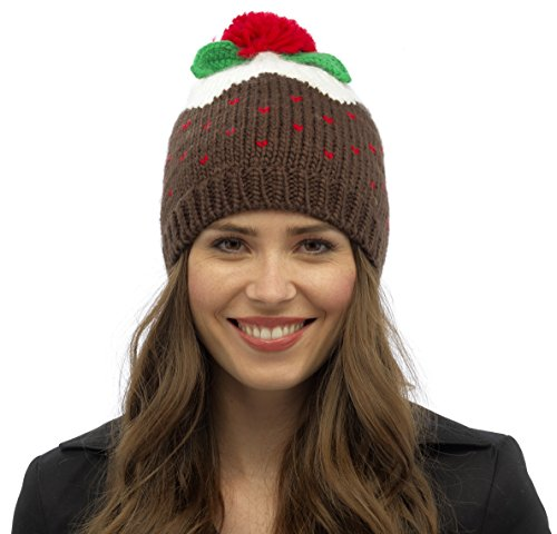 RJM Ladies Christmas Pudding Novelty Hat