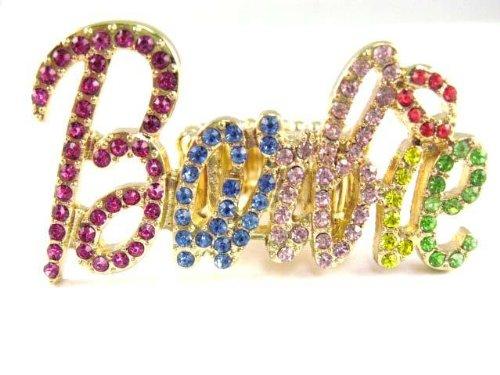 Barbie Nicki Minaj Pendant 18 Chain Amp Ring Set Gold Multi