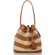 Trina Shoulder Bag<br>Raffia Vineyard Whiskey