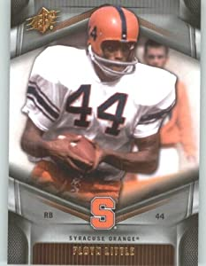 Buy 2012 Upper Deck SPx Football Card #17 Floyd Little - Syracuse Orangemen - Denver Broncos - NFL - NCAA Legend by Upper Deck