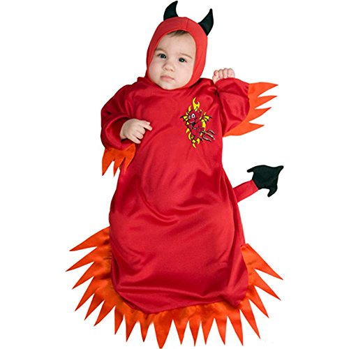 The Little Devil Baby Bunting Costume - Newborn