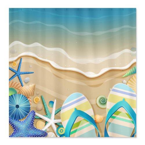 beach shower curtains 2