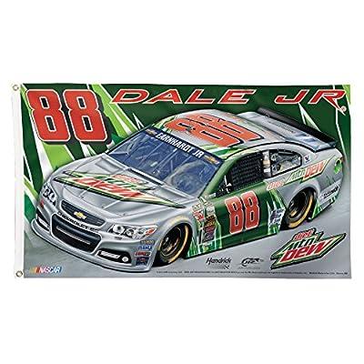 NASCAR Dale Earnhardt Jr. Deluxe Flag, 3 x 5', Multicolor