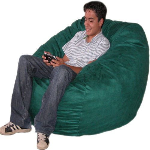 Best Buy Cozy Sack 4 Feet Bean Bag Chair Large Hunter On Sale