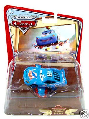 Buy Low Price Mattel Disney / Pixar CARS Movie 1:55 Die Cast Car World of Cars Vehicle #1 Lightning Storm Lightning McQueen Figure (B001H4EPYK)