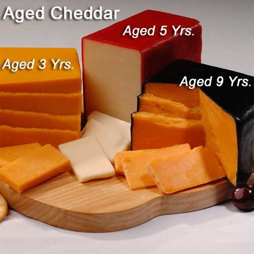 Sampler (One Block each) Aged Cheddar Cheese