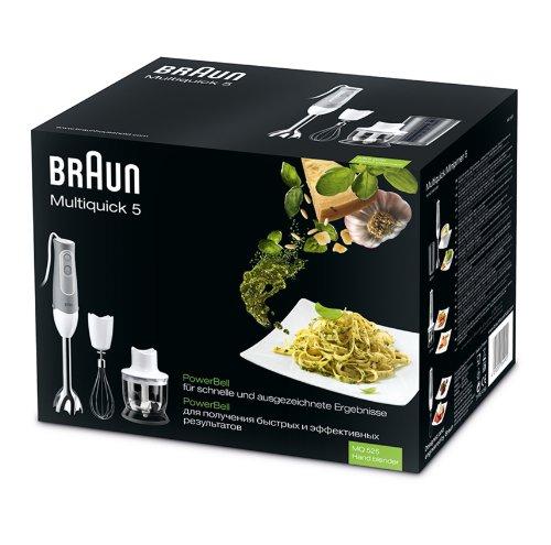 Braun mixer ad immersione con set di accessori grigio grau - Mixer da cucina ad immersione ...
