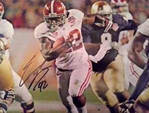 Eddie Lacy Alabama Crimson Tide Autographed 11x14 Photo by photo+11x14