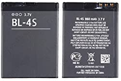 OEM Battery Nokia BL4S for Nokia 2680 slide, 3600 slide, 3710 fold, 6202 classic, 6208 classic, 7020, 7100 Supernova, 7610 Supernova, X3-02, X3-02 Touch and Type, X3-02.5 Touch and Type