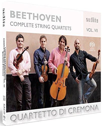 SACD : BEETHOVEN,L.V. / QUARTETTO DI CREMONA - Complete String Quartets 7