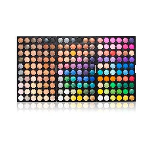 Pro 180 Colori Shimmer Nudo Tavolozza di Ombretti Trucco Make Up Palette Nuovo