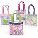 Tea Party Tote Bag Assortment (1 dz)
