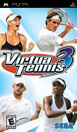 Virtua Tennis 3 - Sony PSP