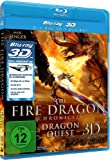 Image de The Fire Dragon Chronicles 3d - Dragon Quest [Blu-ray] [Import allemand]