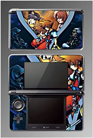 Kingdom Hearts Birth by Sleep Donald RPG Game Vinyl Decal Cover Skin Protector Kit 8 for Nintendo 3DS