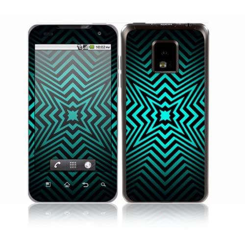 Star Struck Design Decorative Skin Cover Decal Sticker for LG T mobile G2x P999 Cell Phone