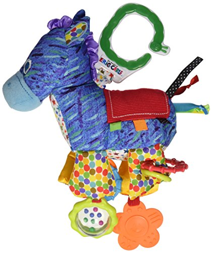 Kids Preferred The World of Eric Carle Developmental Toy with Sound, Horse